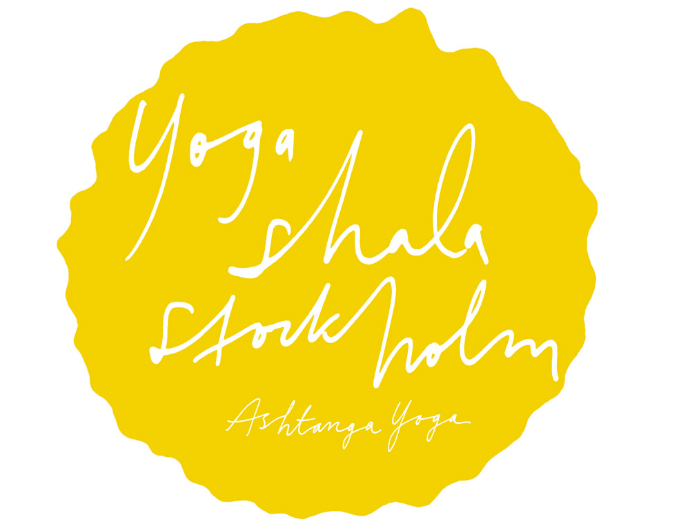 Yogashala stockholm symbol - illustration Stine Wirsén