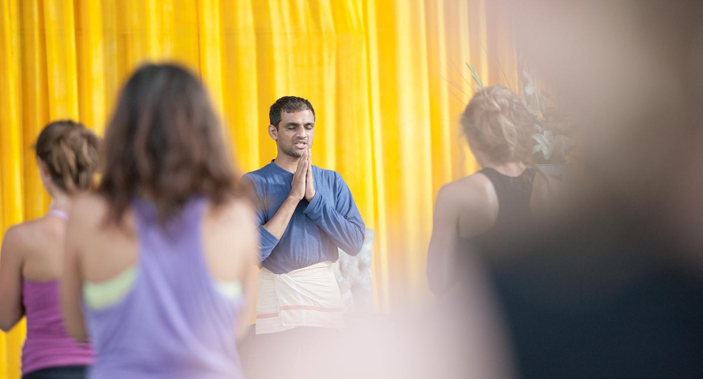 Workshop Stockholm R. Sharath Jois Yogashala Stockholm