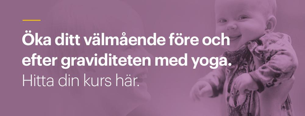 Yoga för gravida på Yogashala Stockholm