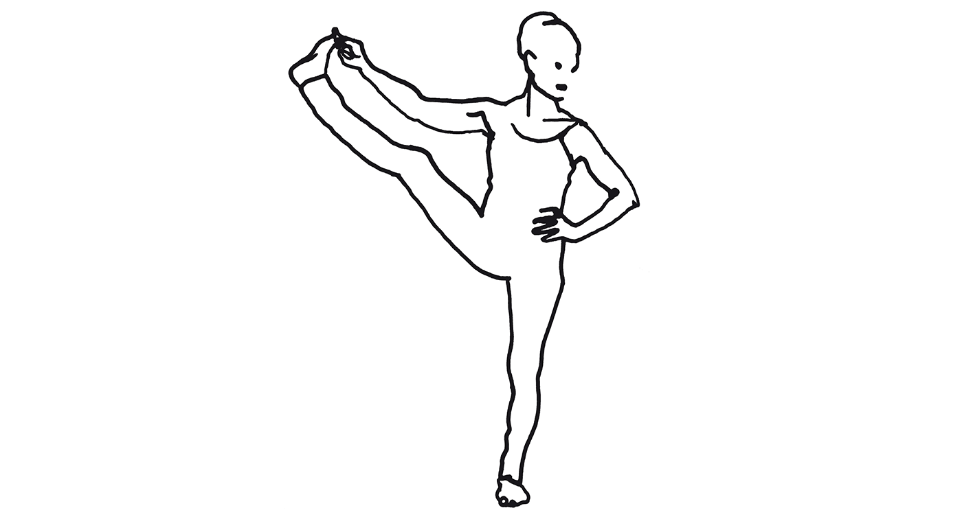 Padangustasana, ashtanga yoga fortsättning mot mysore, Yogashala