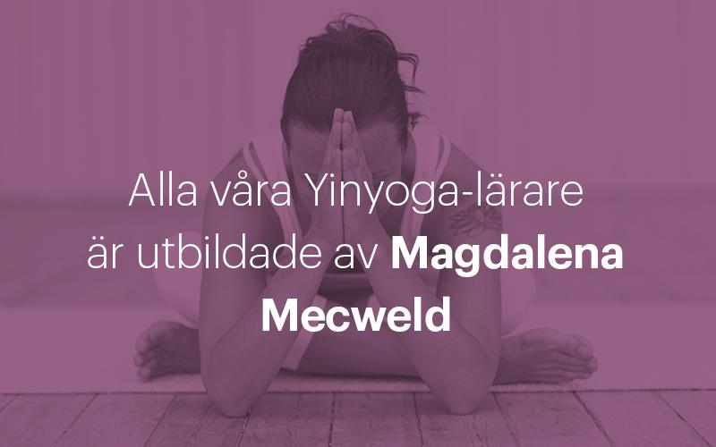 Magdalena Mecweld Yinyoga Yogashala Stockholm